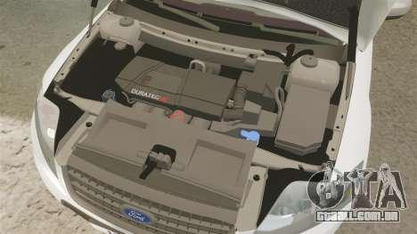 Ford Mondeo Croatian Police [ELS] para GTA 4 vista interior