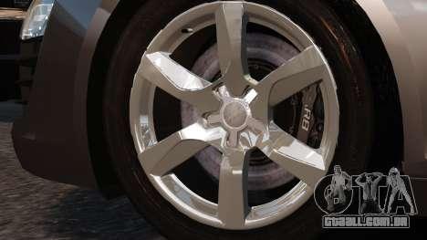 Audi R8 v1.1 para GTA 4 vista direita