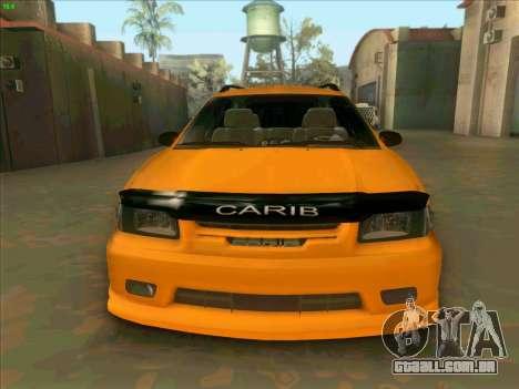 Toyota Carib para GTA San Andreas vista traseira