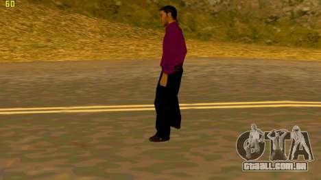 A nova textura shmycr para GTA San Andreas por diante tela