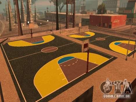 Nova quadra de basquete para GTA San Andreas