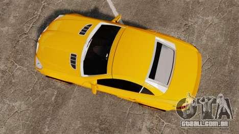 Mercedes-Benz SLK 55 AMG 2014 v1.4 para GTA 4 vista direita