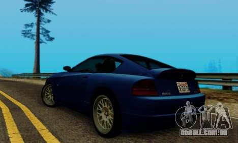 Fusilade GTA V para GTA San Andreas vista direita
