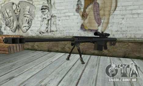 M82A3 para GTA San Andreas