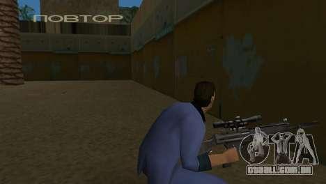 Retexture armas para GTA Vice City por diante tela