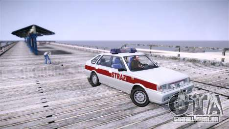 Daewoo FSO Polonez Caro Fire para GTA 4 esquerda vista