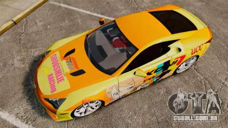 Lexus LF-A 2010 [EPM] Goodsmile Racing para GTA 4 vista direita