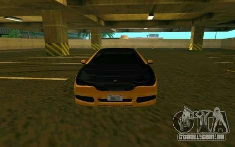 Ubermacht Oracle из GTA para GTA San Andreas esquerda vista