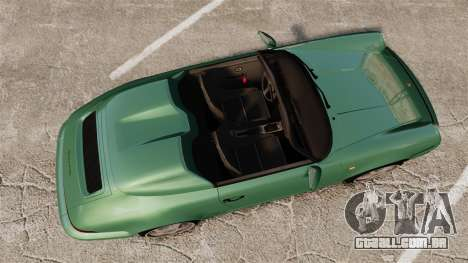 Porsche 911 Speedster para GTA 4 vista direita