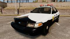 Ford Crown Victoria Japanese Police [ELS] para GTA 4