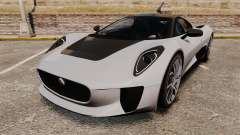 Jaguar C-X75 [EPM] Carbon Series para GTA 4