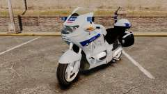 BMW R1150RT Police nationale [ELS] v2.0 para GTA 4