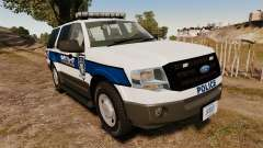 Ford Expedition LCPD SSV v2.5F [ELS] para GTA 4