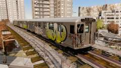 Novo grafite para metrowakonowa para GTA 4