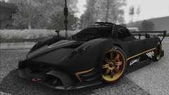 Pagani Zonda R 2009 para GTA San Andreas
