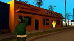 A nova textura loja Binco em LS para GTA San Andreas