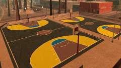 Nova quadra de basquete