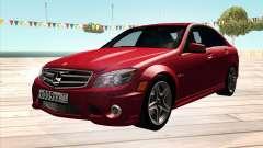 Mercedes-Benz C63 AMG HQLM para GTA San Andreas