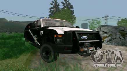 Ford F-250 Bone County Ultimate Response para GTA San Andreas