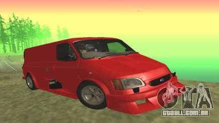 Ford Transit Supervan 3 Personalizado para GTA San Andreas