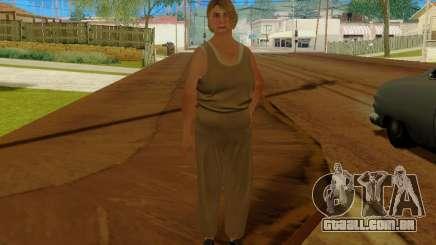 Mulher idosa para GTA San Andreas