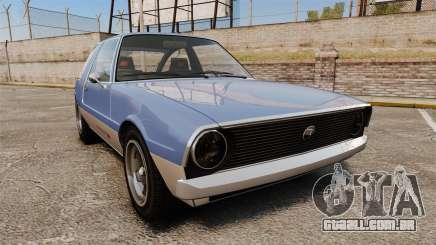 Declasse Rhapsody para GTA 4