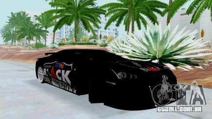 Lexus LFA Street Edition Djarum Black para GTA San Andreas