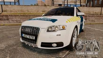 Audi S4 Avant Hungarian Police [ELS] para GTA 4