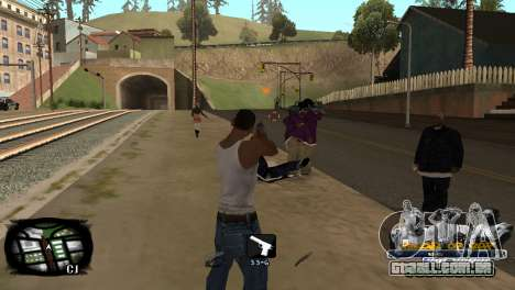 C-HUD Kings of Rap para GTA San Andreas terceira tela