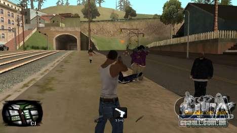 C-HUD Kings of Rap para GTA San Andreas terceira tela