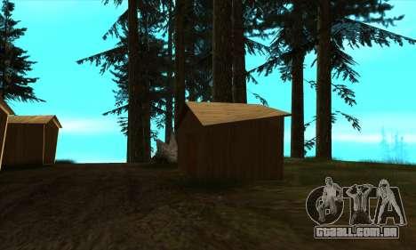Casas novas no PANOPTICON para GTA San Andreas quinto tela
