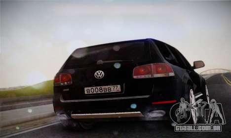 Volkswagen Touareg 2010 para GTA San Andreas esquerda vista