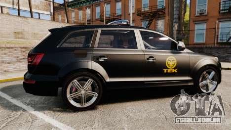 Audi Q7 TEK [ELS] para GTA 4 esquerda vista
