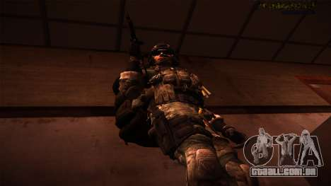 Ranger из Call Of Duty: Ghosts para GTA San Andreas terceira tela