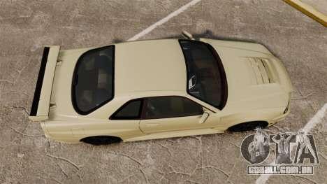 Nissan Skyline R34 Nismo Z-Tune para GTA 4 vista direita