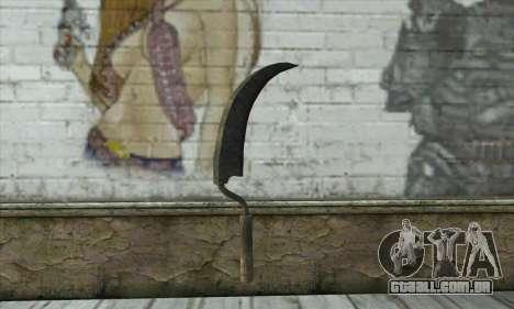 Velho e enferrujado martelo para GTA San Andreas segunda tela