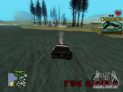 C-HUD Guns para GTA San Andreas sexta tela
