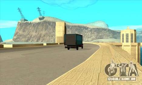 Nova represa Sherman para GTA San Andreas terceira tela