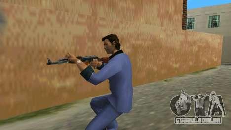 Kalashnikov Modernizado para GTA Vice City terceira tela