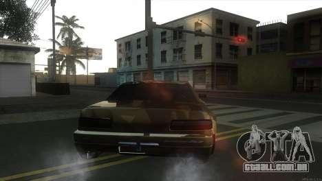 Elegy Fail Crew by Black para GTA San Andreas traseira esquerda vista