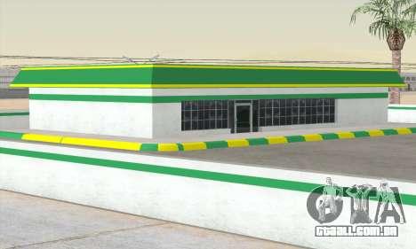 Preencher o estilo de todo o governo para GTA San Andreas terceira tela