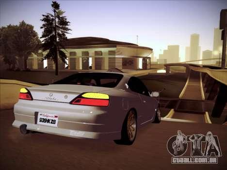 Nissan Silvia S15 Stanced para GTA San Andreas vista direita