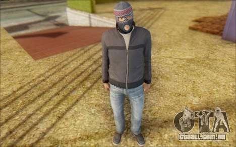 Russian Thug para GTA San Andreas segunda tela