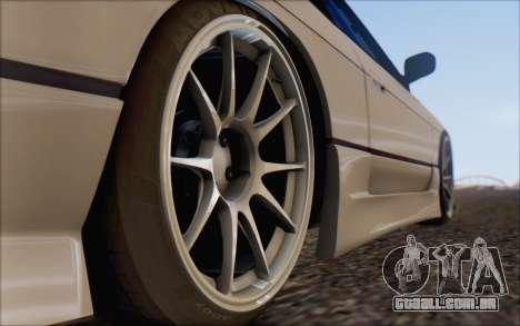 Nissan Silvia S13 Vertex para GTA San Andreas vista direita