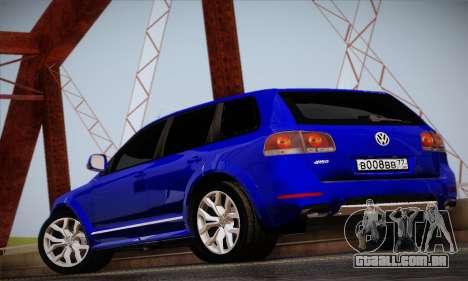 Volkswagen Touareg 2010 para GTA San Andreas vista direita