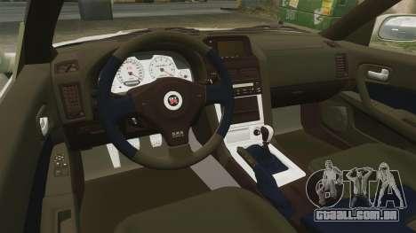 Nissan Skyline R34 Nismo Z-Tune para GTA 4 vista lateral