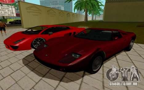 GTA 5 Pegassi Vacca para GTA San Andreas vista traseira