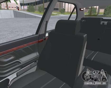 BMW 7-series E38 para GTA San Andreas vista traseira
