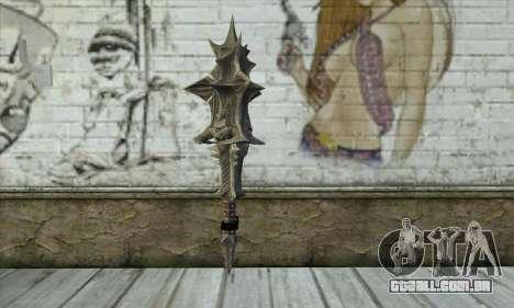Daedric Sword para GTA San Andreas