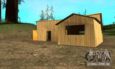 Casas novas no PANOPTICON para GTA San Andreas segunda tela